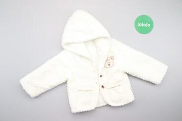 Дитяча тепла кофтинка з капюшоном    Довжина: 34 см Ширина плечей: 26