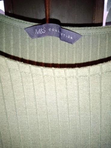 M.Spenser haljina maslinasto zelena kao nova br40 - Crvenka