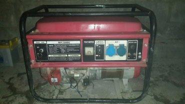 Сдаю в аренду гнераторы 3х. 5и и 6kw по 900с. в сутки  в Бишкек