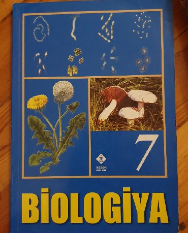 biologiya kitabi - Azərbaycan: Biologiya 7 tertemizdir. Tecili satilir