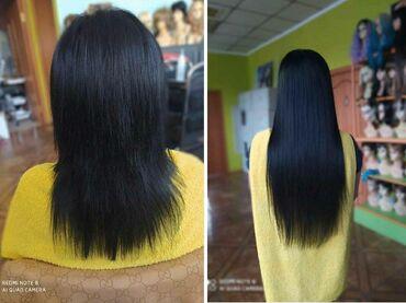 Мода, красота и здоровье в Кыргызстан: Наращивание волос по новой скрытой технике микрокапсулы, нанокапсул