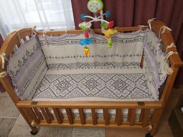 usaq kravati в Кыргызстан: Продаю кроватку в отличном состоянии. С матрасом