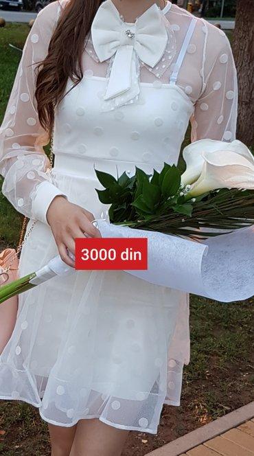 Maturska haljinica obucena samo jednom. Cena- 3000 din* placena 5000 - Kikinda