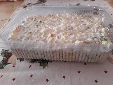 Ruska salata bez piletine sa kukuruzom 1 kg - Sabac