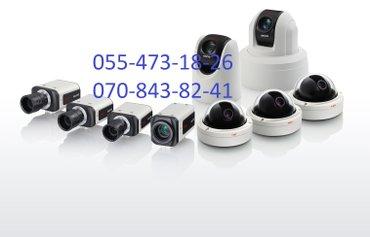 Bakı şəhərində Nezaret kamera sistemleri hd ultra hd ahd ve yuksek gece goruntulu
