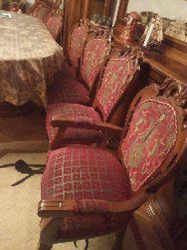 açılıb yığılan oturacaqlar kreslolar - Azərbaycan: 10 oturacaq stolu,1 qabaq, 2 kreslo, 1 divan