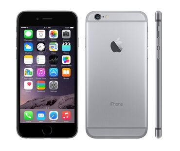 Apple Iphone - Bakı: İşlənmiş iPhone 6 16 GB Boz (Space Gray)