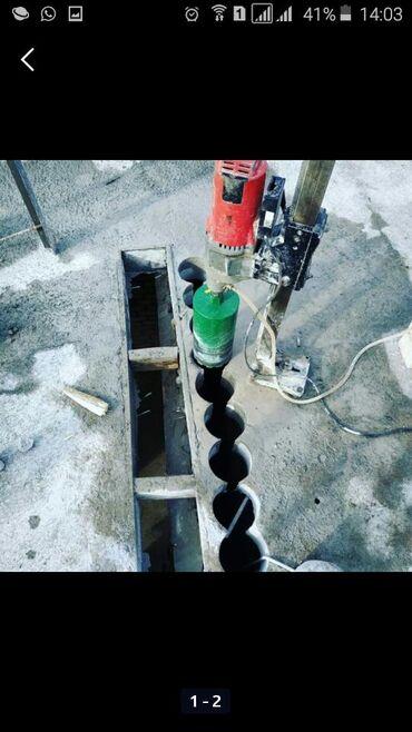 Сверлим отверстие алмаз бур от 15-250 д сан тех газ