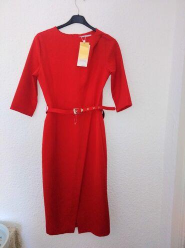 Haljine - Crvenka: Fenomenalna haljina nova Vel. S