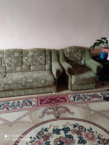 Продаю б/у мягкую мебель