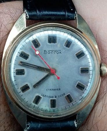 Личные вещи в Кюрдамир: Золотистые Мужские Наручные часы Vostok Europe