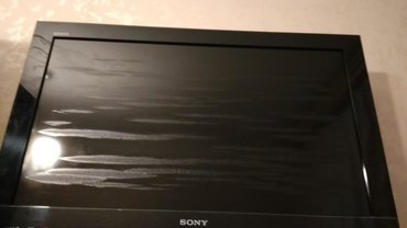 televizor - Azərbaycan: Televizor Sony KLV-32EX300. Televizor işləyir, amma ekranı yanıb, pis