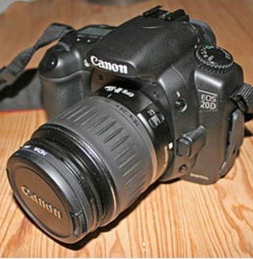 Продаю фотоаппарат canon 20d с объективом 18-55. в Бишкек