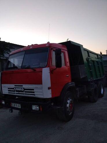 грузовой в Кыргызстан: Продаю КамАЗ евро 0 самосвал с прицепом 2 цилиндра прицеп полностью