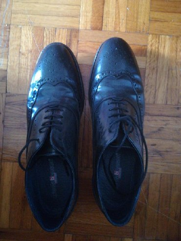 Cipele Nicola Benson, koža, bez ostecenja, obuvene tri puta