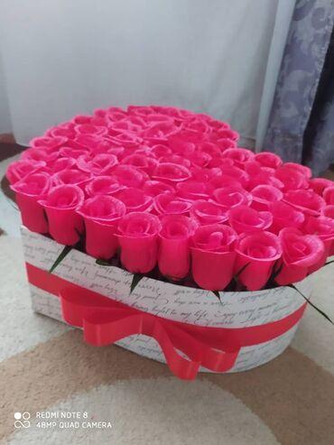 букеты ручной работы в Кыргызстан: Цветы! Цветы ! Напишем,оформим по вашему желанию.Ручная работа