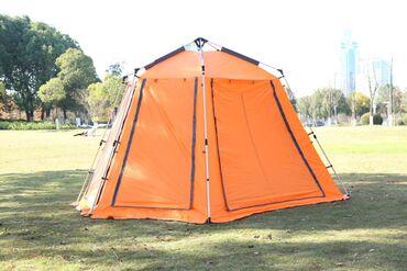 Палатка 1. Каркас изготовлен из высококачественных материалов. Все