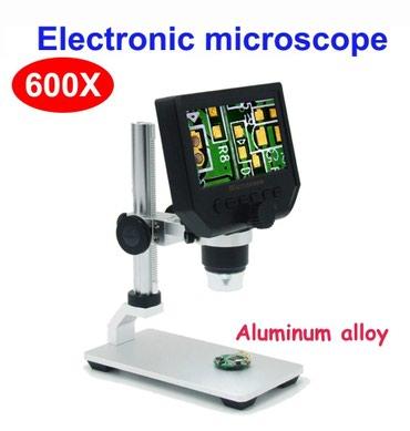 Bakı şəhərində Elektron video mikroskop. Display+ mikroskop.