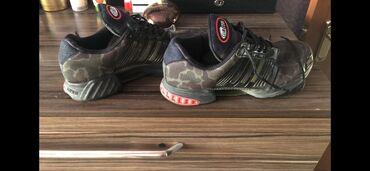 nike-air-force-бишкек в Кыргызстан: Продаю кроссовки фирмы Адидас оригинал, милитари в идеальном состоянии