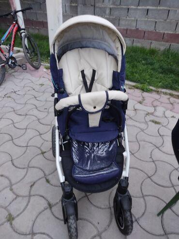 Коляски - Кыргызстан: Качественная популярная польская коляска Indigo 2 в 1 в хорошем состоя