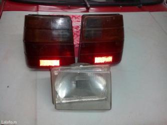 Auto delovi - Krusevac: Fiat uno prednji desni far i zadnja stop svetla