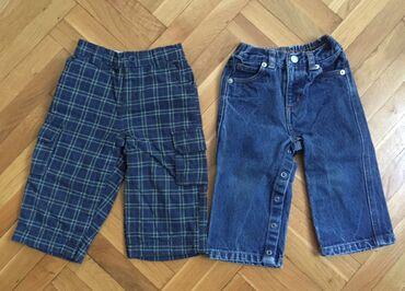 Farmerki pantalone - Srbija: Gap postavljene pantalone i LR farmerke 12 - 18 mes. 80 - 86