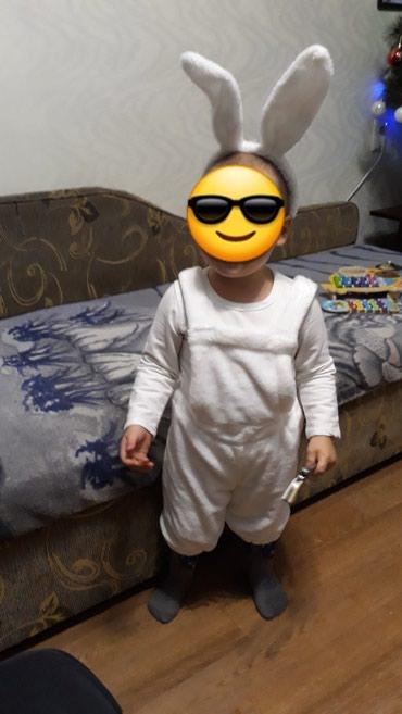 Продаю костюм зайчика на 2-3 года. в Бишкек