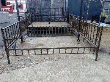 Садовая мебель в Кыргызстан: Тапчан 2.5*2.5м, с полом из Осб 16000, без пола только каркас 14000