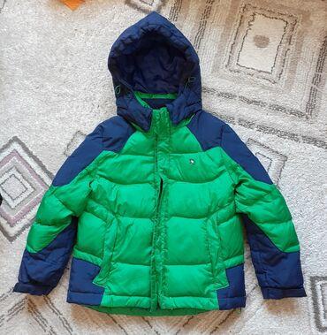 Куртка детская на мальчика 3-5лет пуховик в отличном состоянии