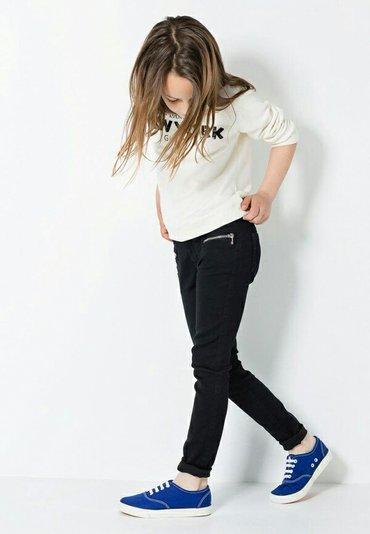 Черные х/б джинсы на девочку. Новые,размеры от 7-12 лет в Бишкек