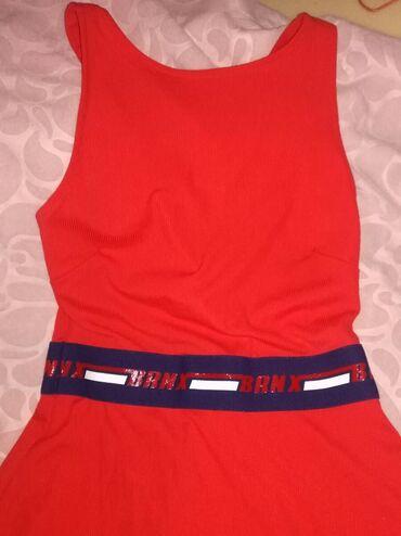 Haljine | Zrenjanin: Nova, crvena haljina, S/M. Vise sportska