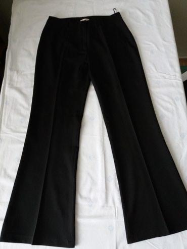 POVOLJNO...Crne, bez pojasa, velicina L pamuk elastin, Novo - Bor