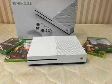 Xbox One Azərbaycanda: X-box One S 1TB, ideal vəziyyətdə, təcili satılır. Cəmi 1 ay