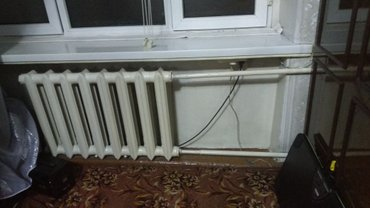 Продаю чугунные радиаторы. 8 секций. 3 000 сом в Лебединовка