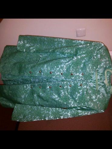 Пиджак зелёный новый. Размер 44-46. в Бишкек