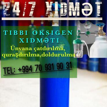 qaz plitəsi - Azərbaycan: Salam xəstənizə tibbi oksigen lazımdırsa biz 24/7 təşkil edə bilərik
