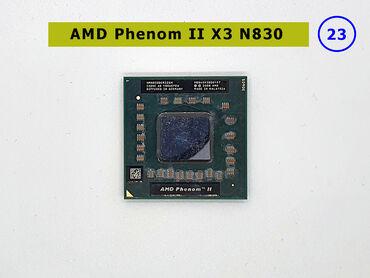 AMD Phenom II X3 N830HMN830DCR32GM➤ Noutbuk üçün prosessor➤ 2,10 GHz➤