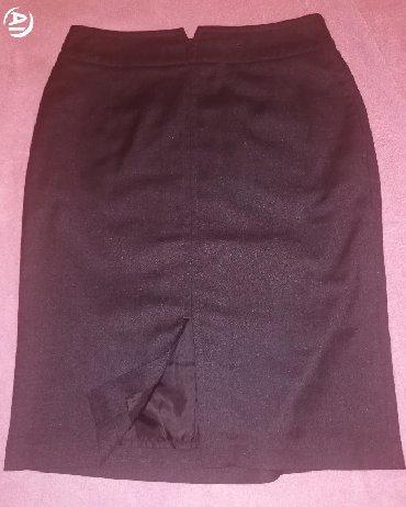sumku oodji в Кыргызстан: Офисная юбка тёмно-серого цвета, отличного качества из хорошей ткани