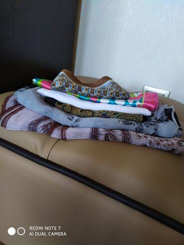 Платки за все 400с. Шифоновые, дедерон и шейные атласные. Размеры
