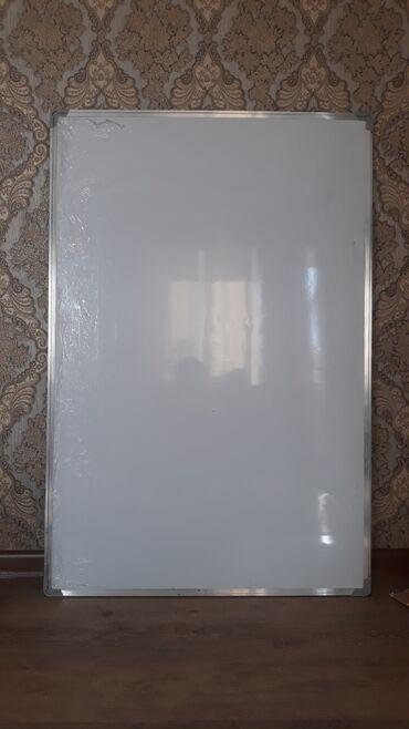 Доски магнитно маркерная пробковая двусторонние - Кыргызстан: Продаётся доска: 1ая новая без вмятин, в отличном состоянии с подвеска