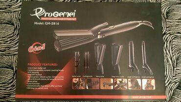 Καινούρια Συσκευή μαλλιων 6 σε 1 ProGemei στο κουτί της