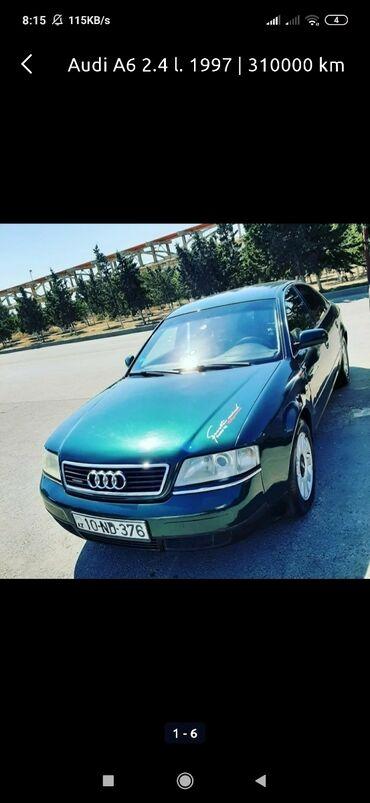 zaslonka - Azərbaycan: Audi A6 2.4 l. 1997