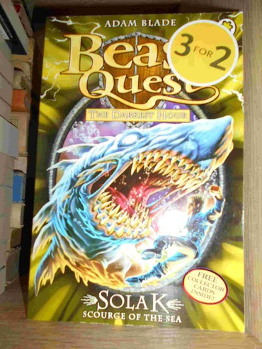 Decija knjiga na ensglekom jeziku Beast Quest-Solak Scourge of the Sea - Belgrade
