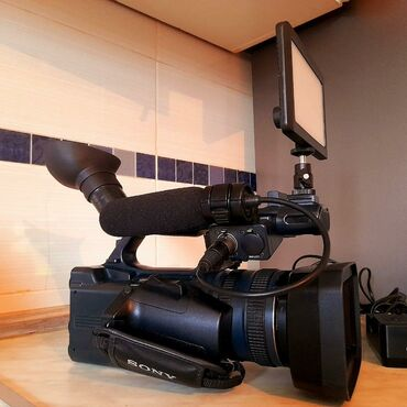 Sony hd ax 2000e.Kamera bu gün Russiyadan gəlib.Alıcılar narahat etsin