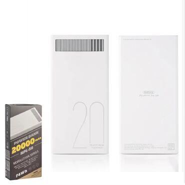 Мобильные телефоны и аксессуары в Душанбе: Зарядное устройство power bank remax 20000 rpl-58. Состояния отличное