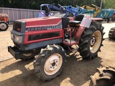 Сельхозтехника - Красный - Бишкек: Продается Японский мини трактор Yanmar FX24D, руль гидравлический бо