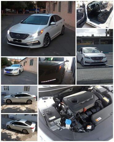 1061 elan   NƏQLIYYAT: Hyundai Sonata 2.4 l. 2016   106876 km