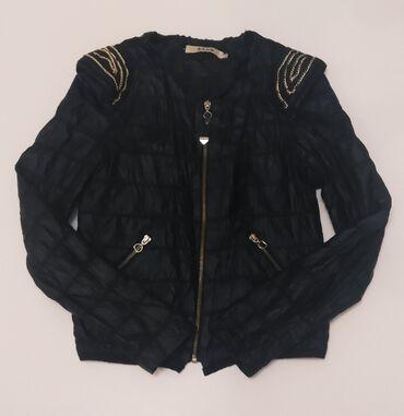Кожаная куртка в хорошем состоянии размер S