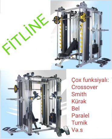ucuz ev - Azərbaycan: Fitline Cox funksiyalı (Multi-functional) trenajor-5490 azn. Yenidir