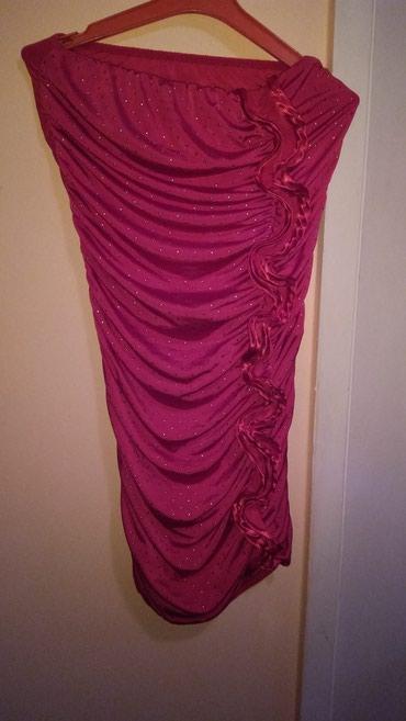Haljina uz telo - Srbija: Nova!! haljina uz telo prelepa. velicine s-m